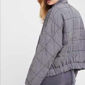 Quilted Dolman Jacket